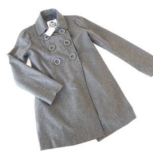NWT🌟BB DAKOTA Wool Coat Gray M